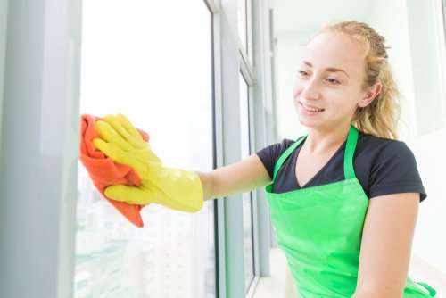 what rooms do house cleaners clean