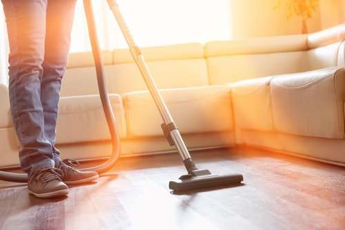 Is it better to sweep or vacuum hardwood floors