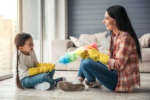 Why should kids help around the house