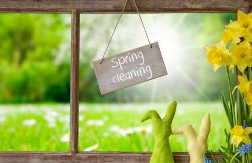 When should you do spring cleaning